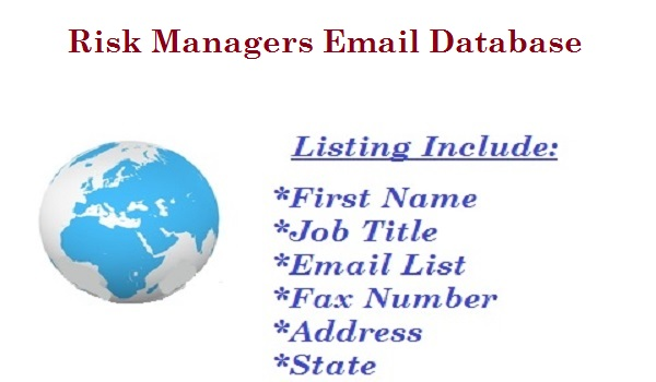 Risk Managers Email Database