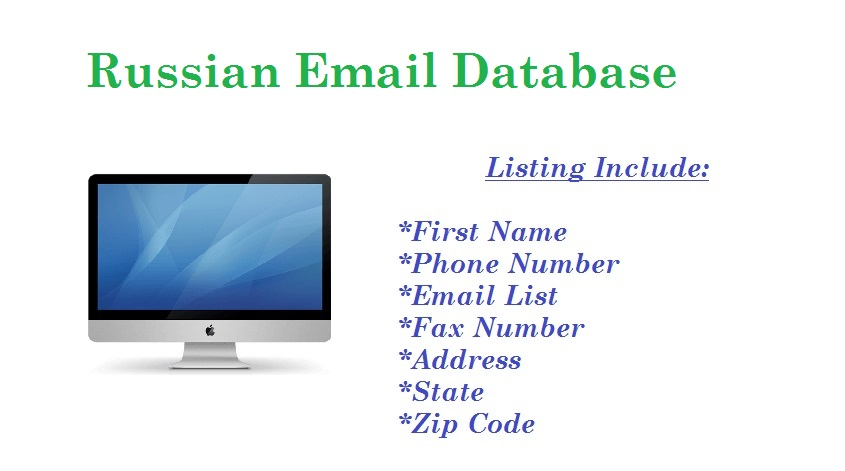 Russian Email Database