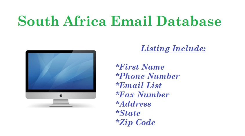 South Africa Email Database